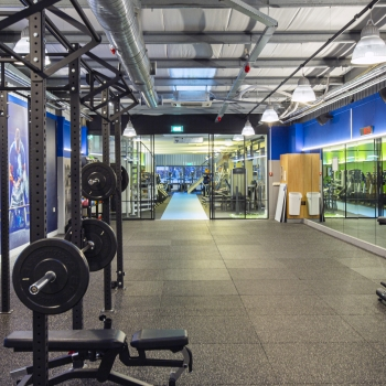 DDJ Media crossfitruimte Fit Academie