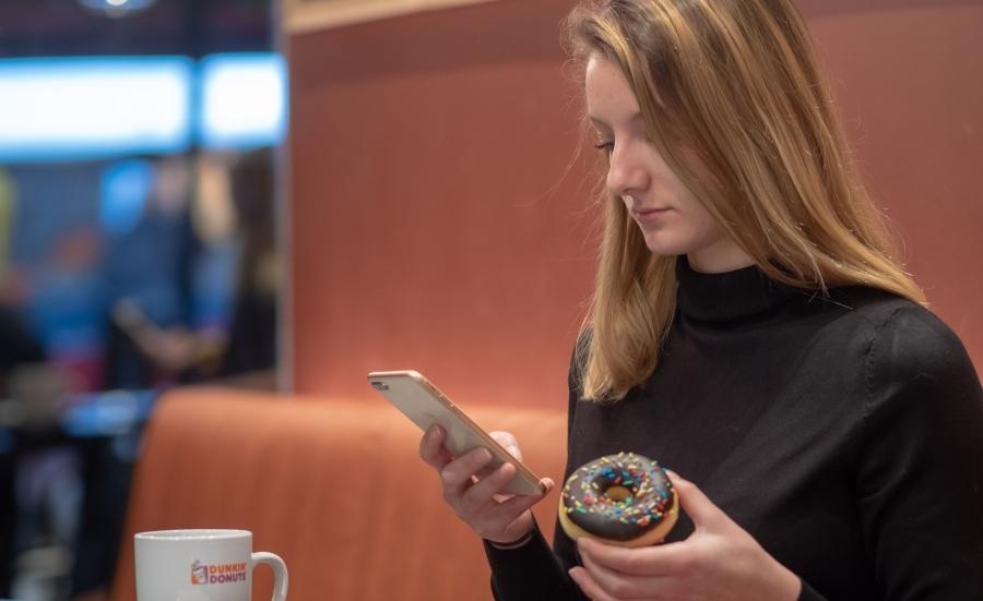 Social WiFi Dunkin Donuts