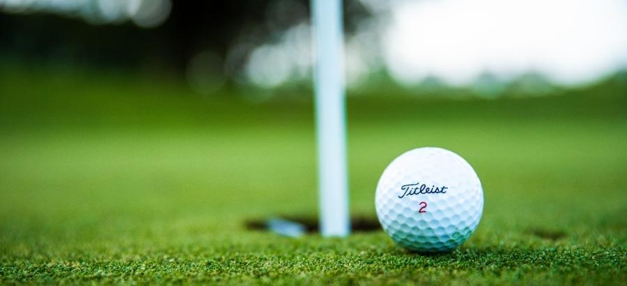 Het rijk golfbanen