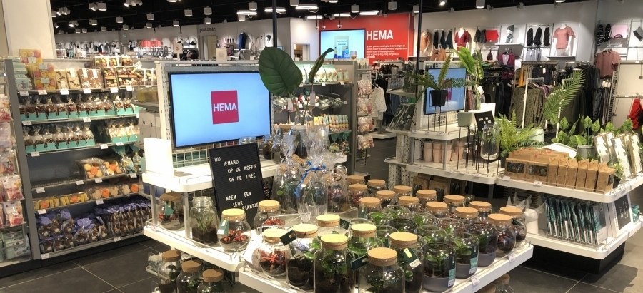 hema instore displays