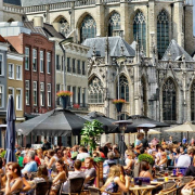 Terras Haarlem horeca gasten